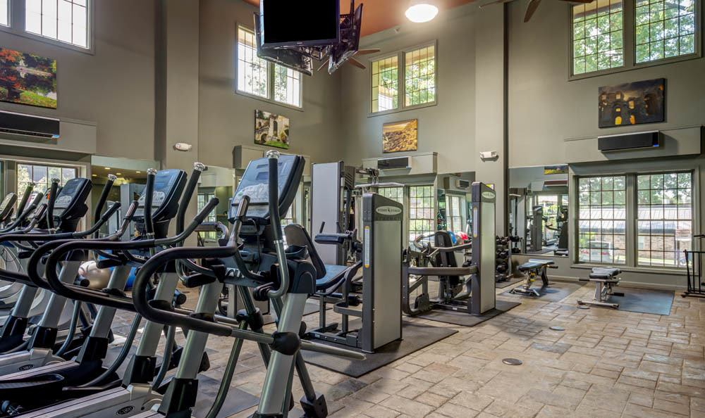 State of the art fitness centers at Nolan Real Estate apartments
