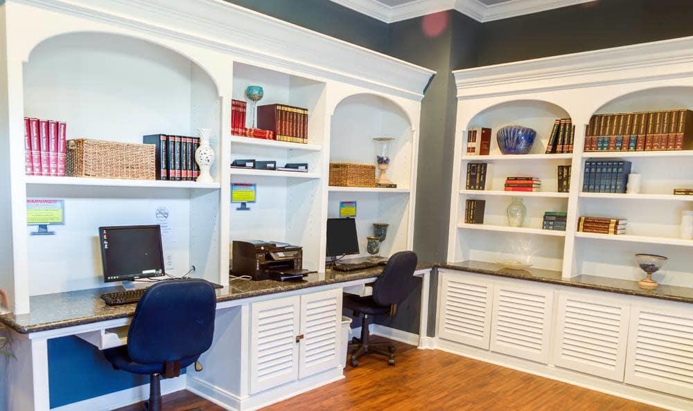 office at Palms at Clear Lake apartments