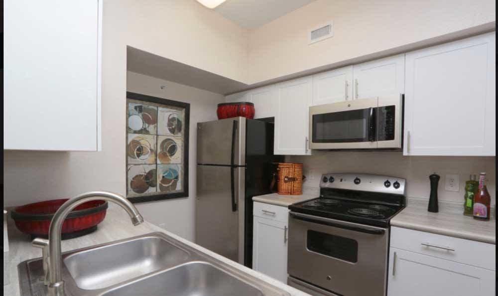 Kitchen at Palms at Clear Lake apartments