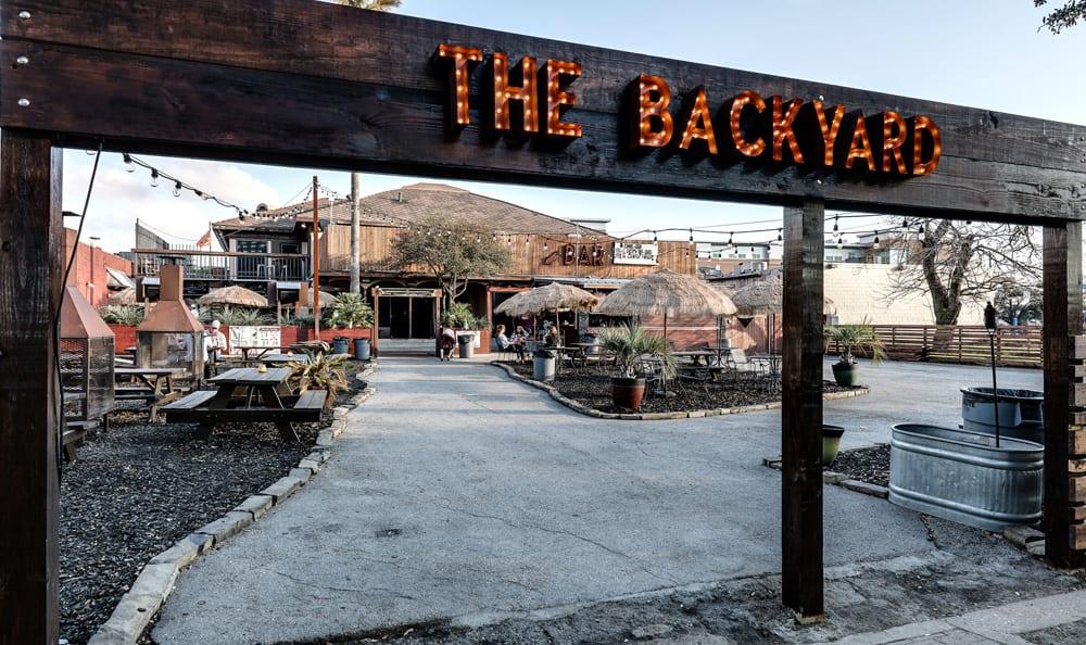 The Backyard in Bryan, TX