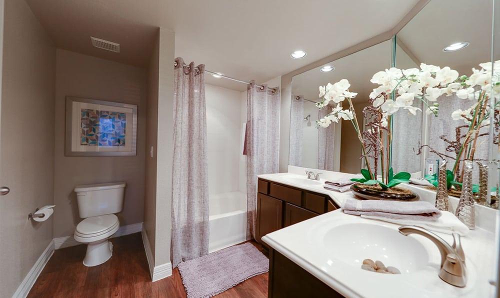 Bathroom at River Pointe