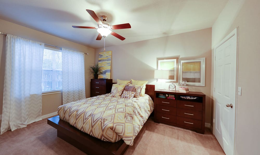 Bedroom at River Pointe