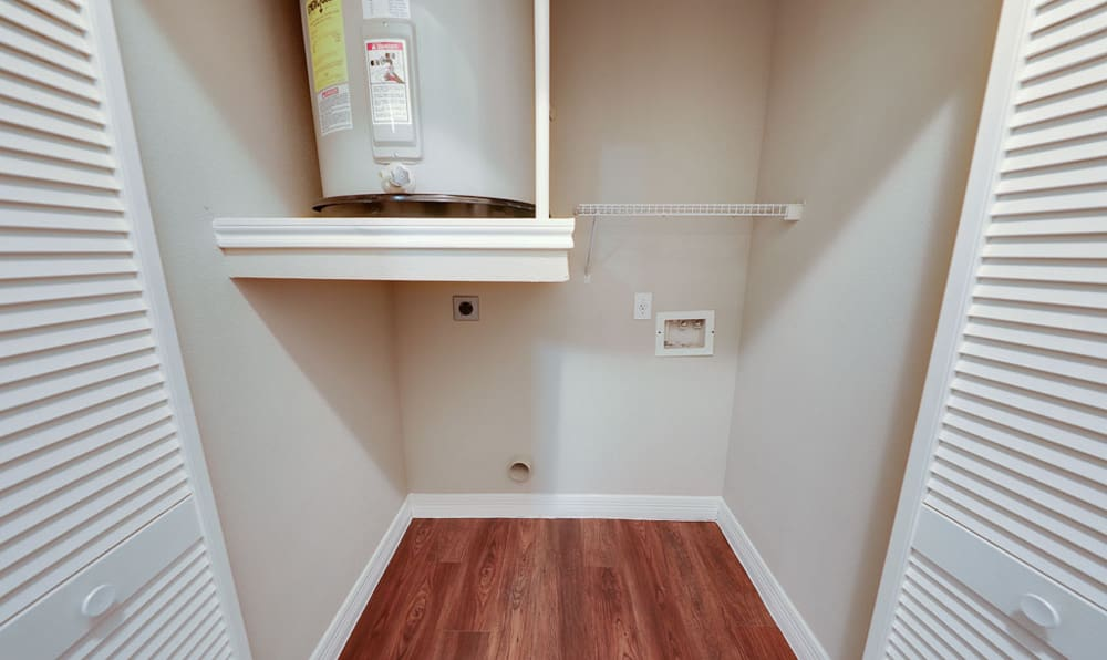 Water Heater/Closet at River Pointe