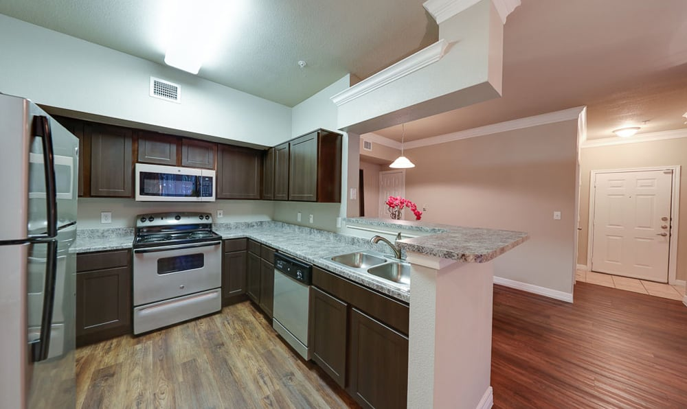 Kitchen at River Pointe