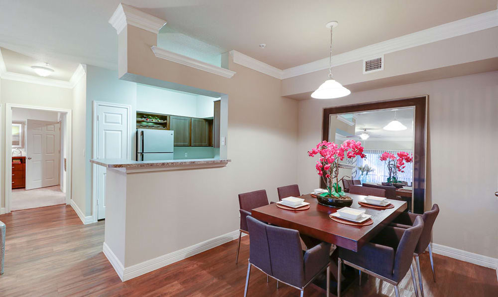 Dining / Kitchen at River Pointe
