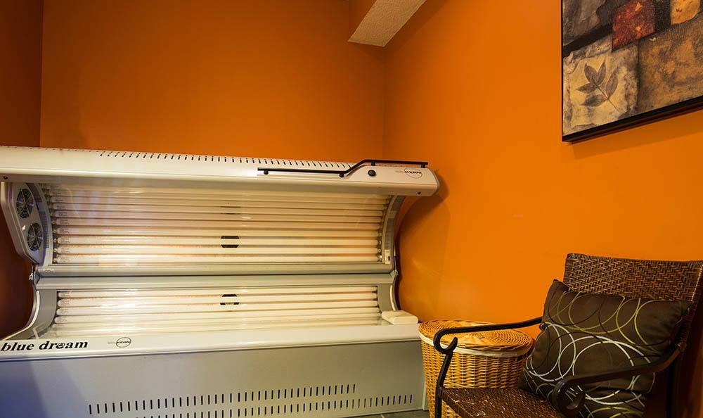 Tanning beds at Springhill Apartments