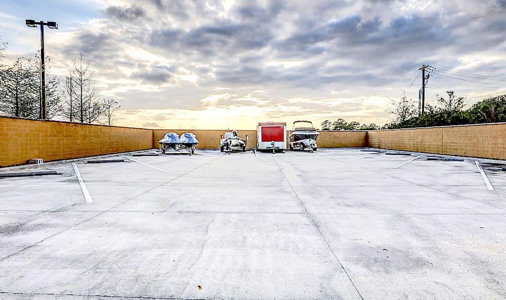Large parking area at Grand Villas at Tuscan Lakes