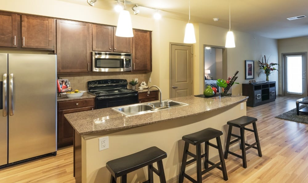 Kichen at Discovery at Rowlett Creek apartments