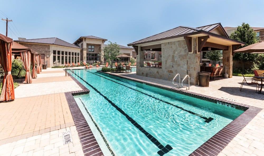 Lap Pool at Discovery at Rowlett Creek apartments