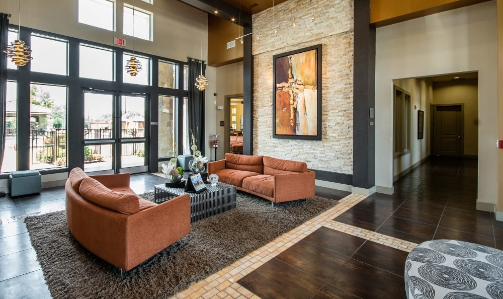 Leasing Office Interior at Discovery at Rowlett Creek apartments
