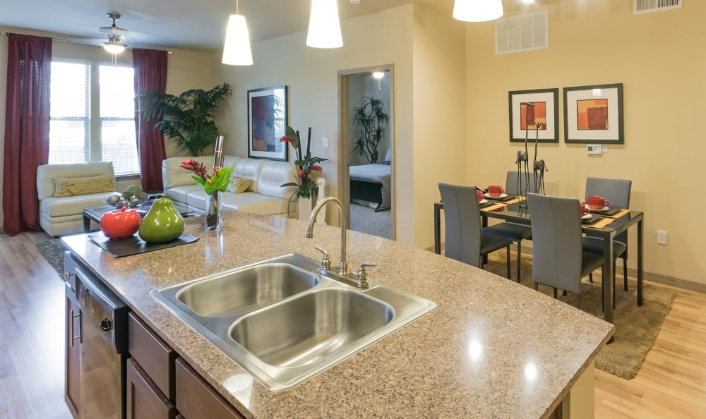 Open Floor Plans at Discovery at Rowlett Creek apartments