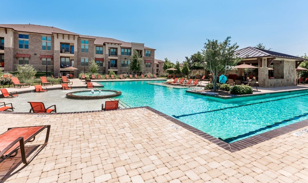 Sun Deck at Discovery at Rowlett Creek apartments
