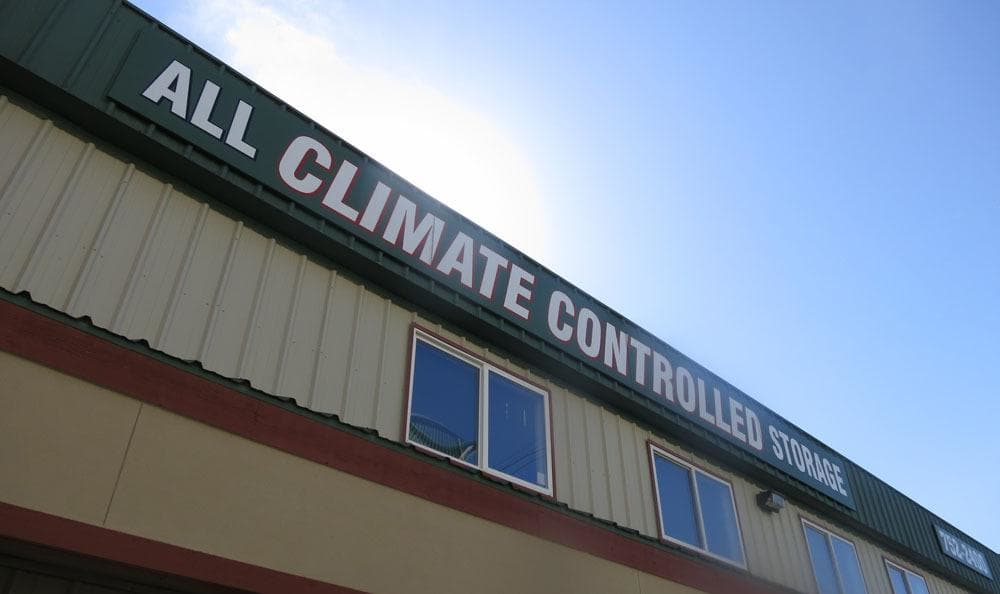 All climate controlled units at self storage on Meridian in Bellingham