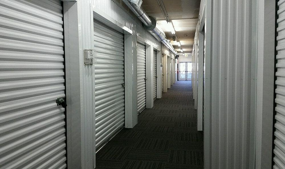 Inside storage access at Bellingham