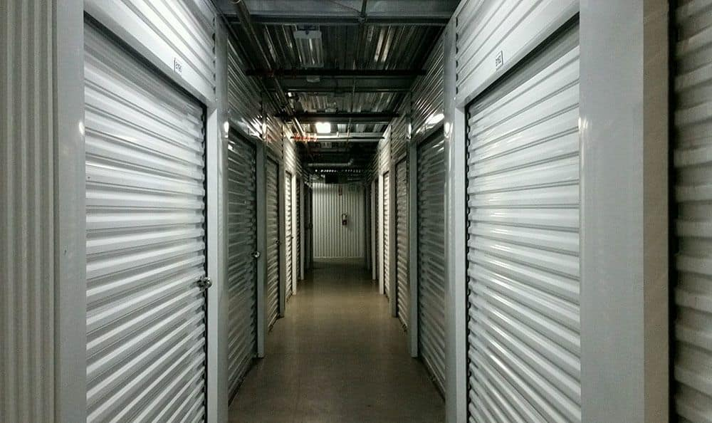 Inside storage units in Bellingham