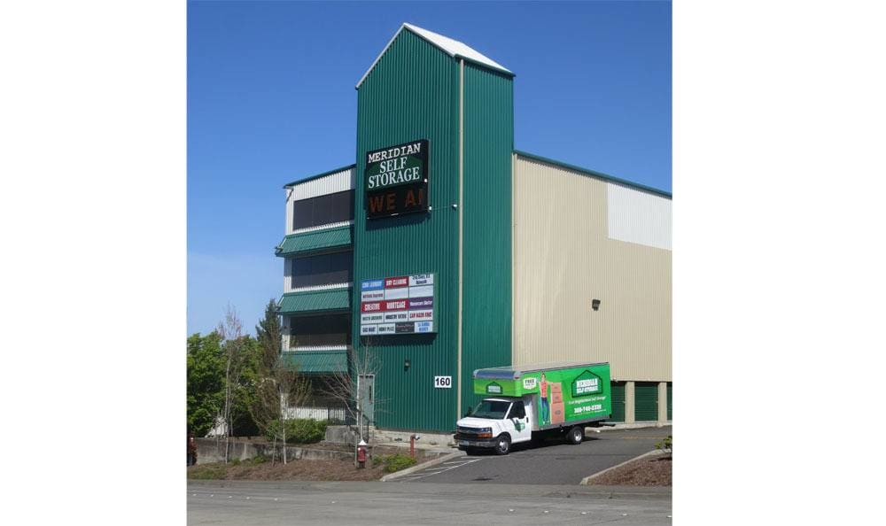 Welcome to self storage on Meridian in Bellingham