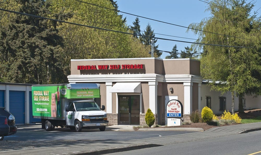 Easy access self storage in Federal Way near Seattle