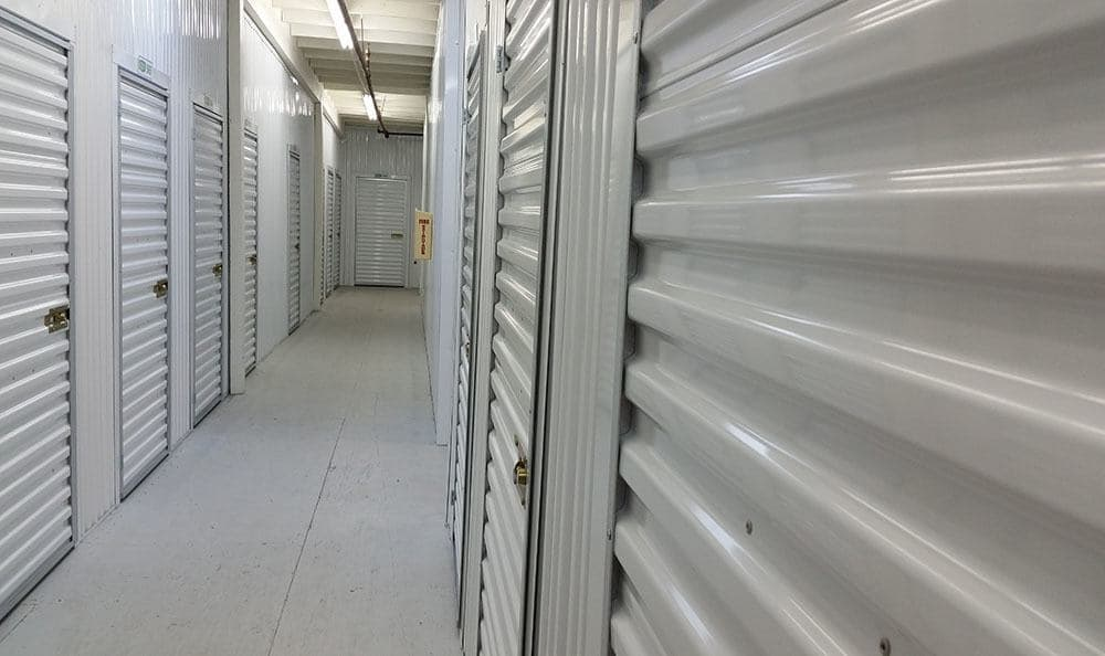 Inside self storage in Federal Way