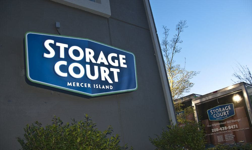 Easy access to self storage in Mercer Island