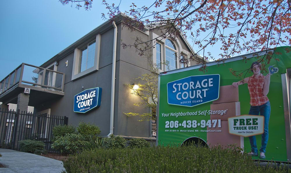 ... Free Moving Truck At Self Storage In Mercer Island ...
