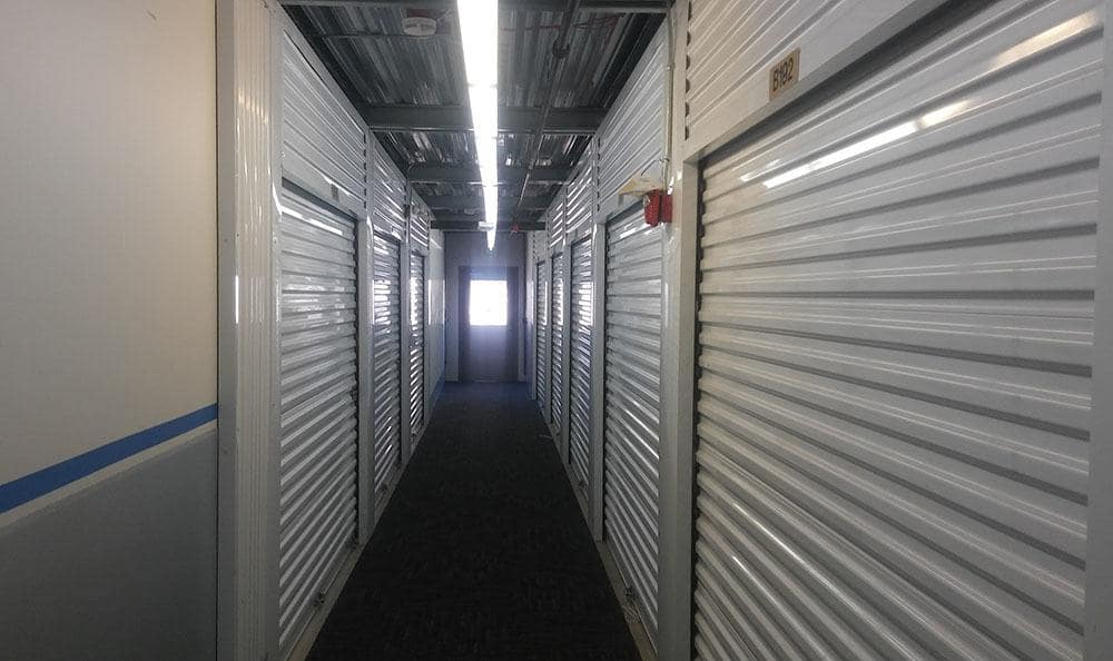 ... Inside Storage Units At Self Storage In Mercer Island ...