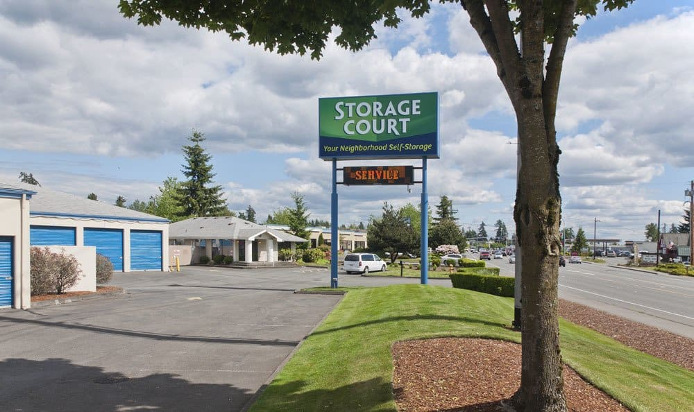 Welcome to self storage in Mill Creek