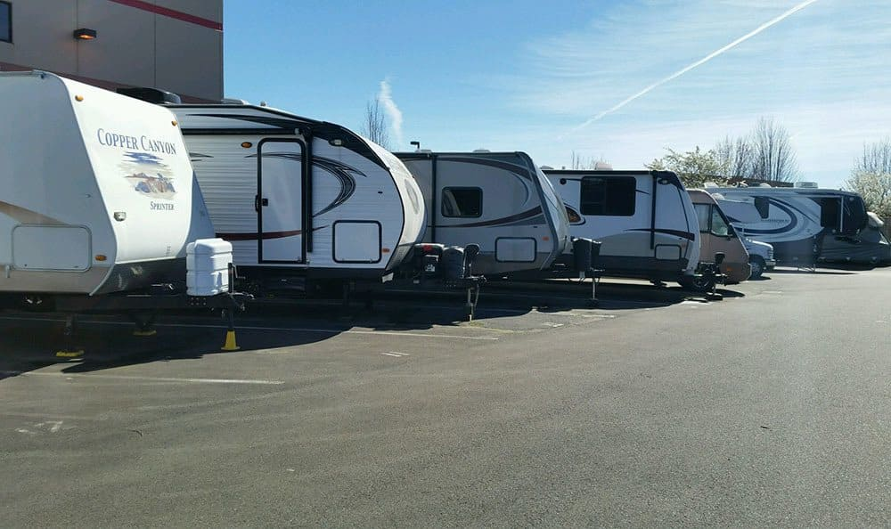 RV storage in Monroe WA