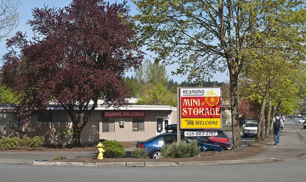 Convenient access at self storage in Redmond