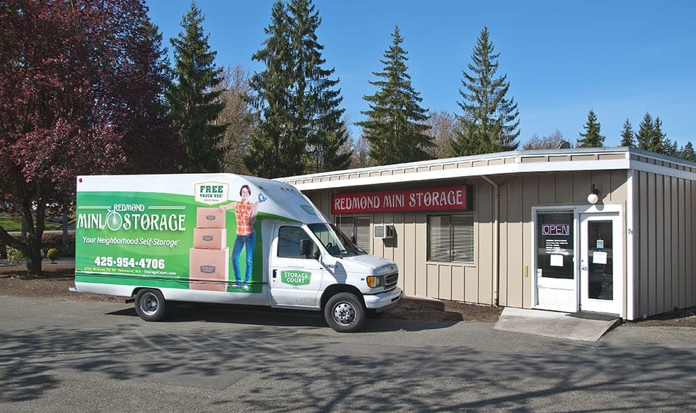 Convenient location at self storage in Redmond