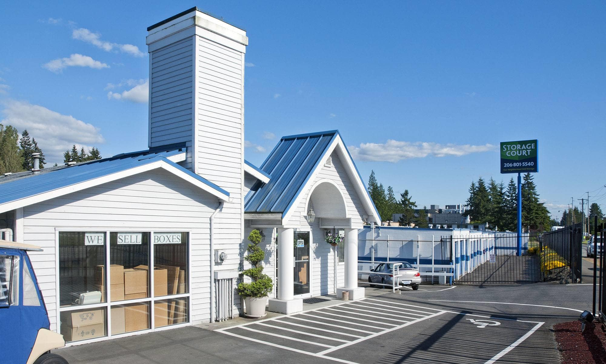 Self Storage In Shoreline WA
