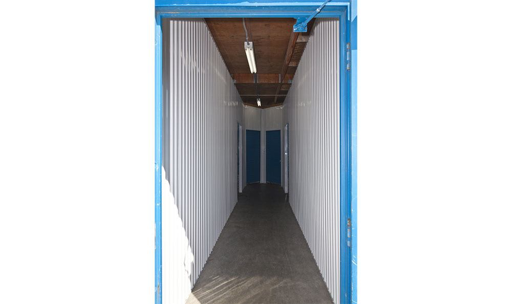 Indoor easy access to self storage in Tacoma