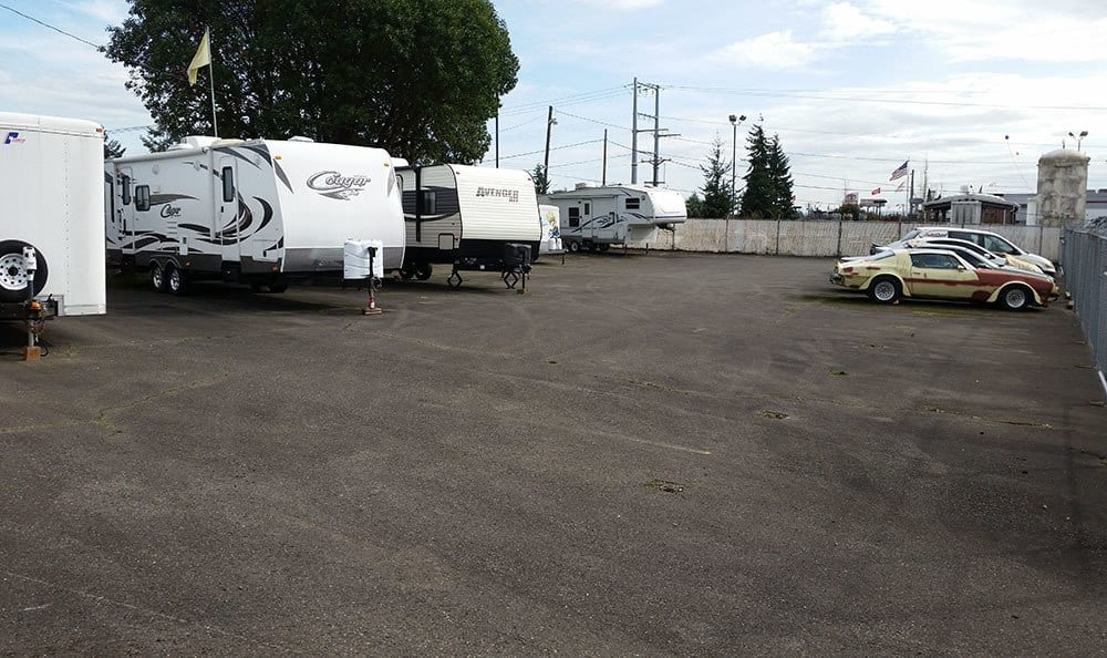 RV storage in Tacoma