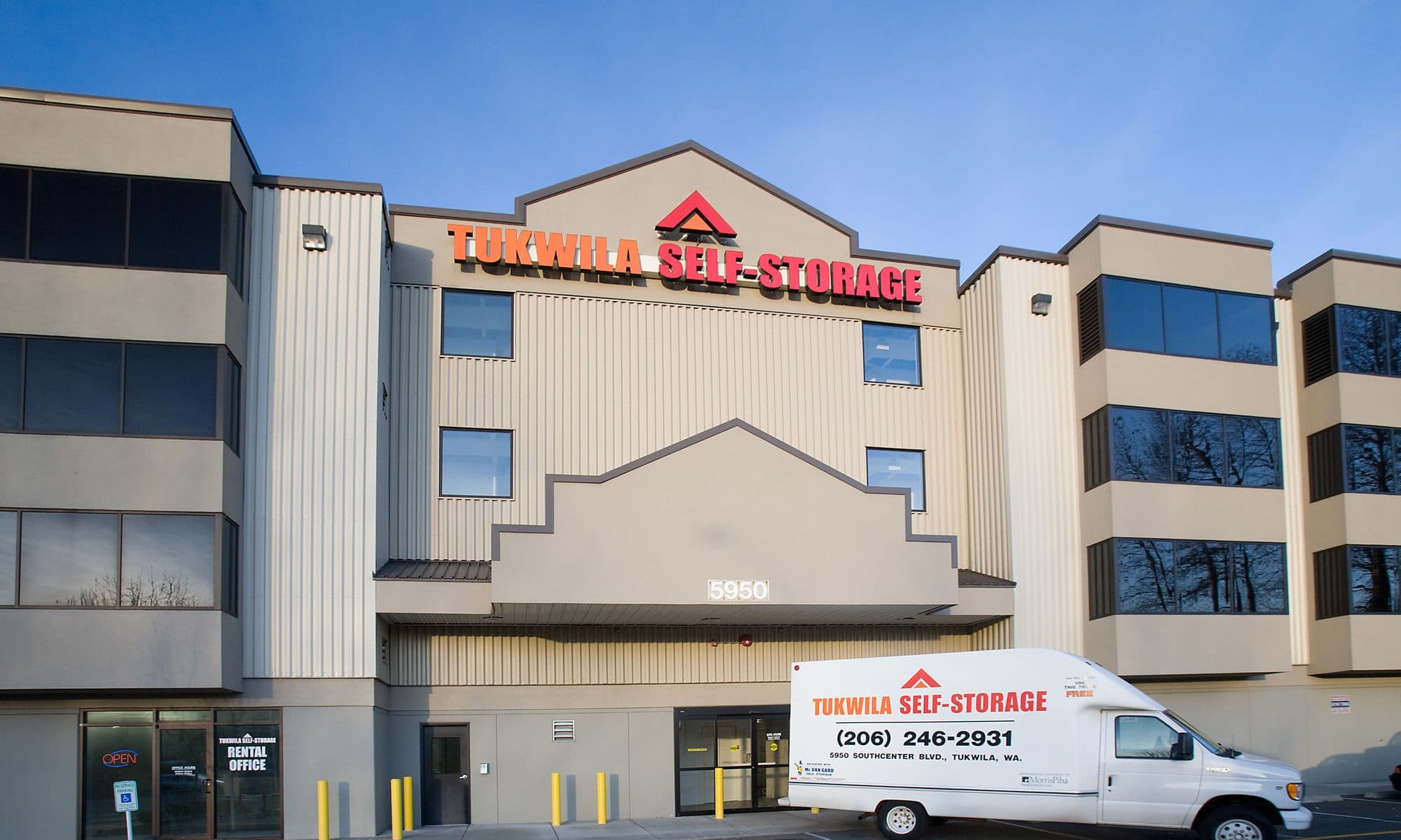 Self storage in Tukwila WA