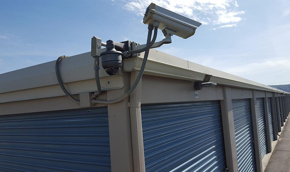 Surveillance cameras at self storage in Yakima