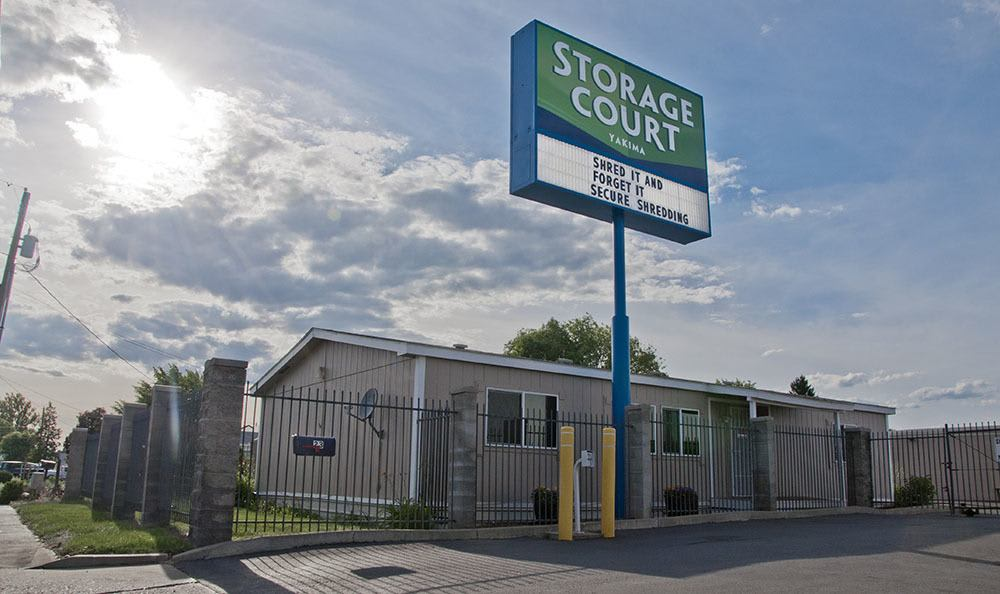 Secure self storage in Yakima