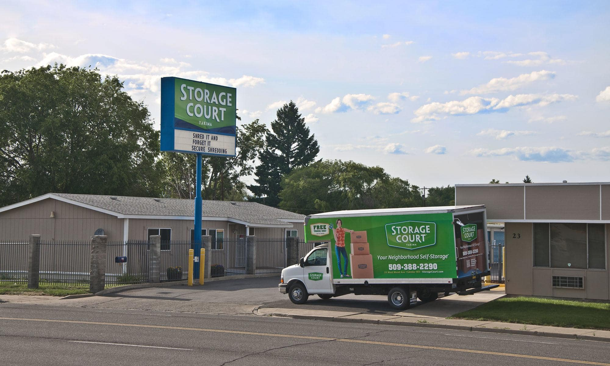 Self storage in Yakima WA