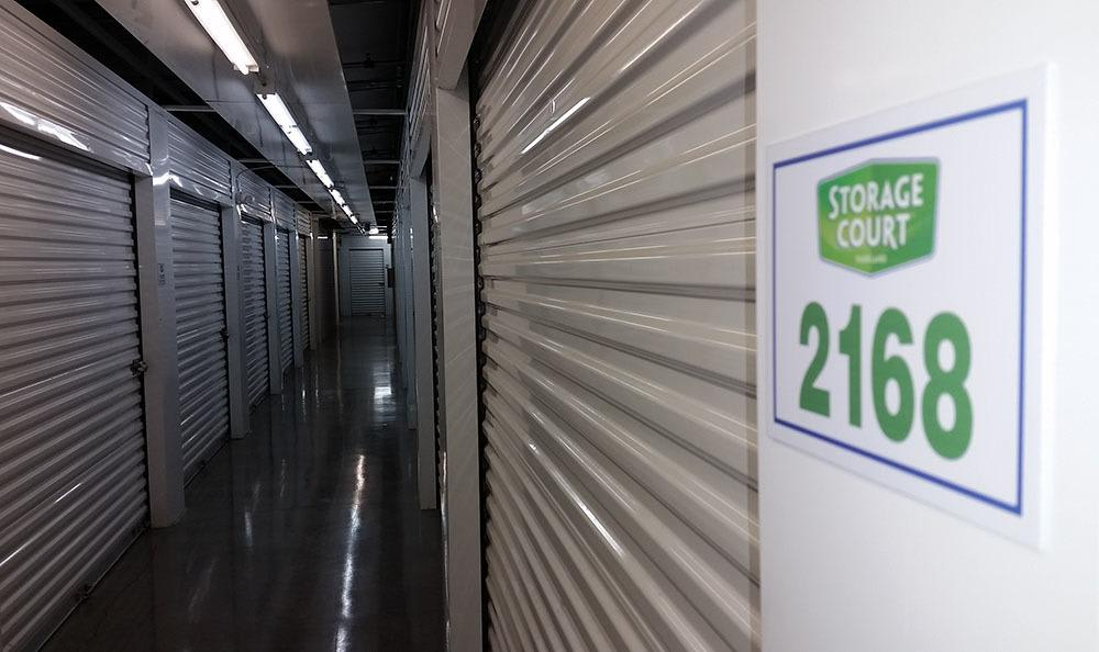 Inside storage in Parkland