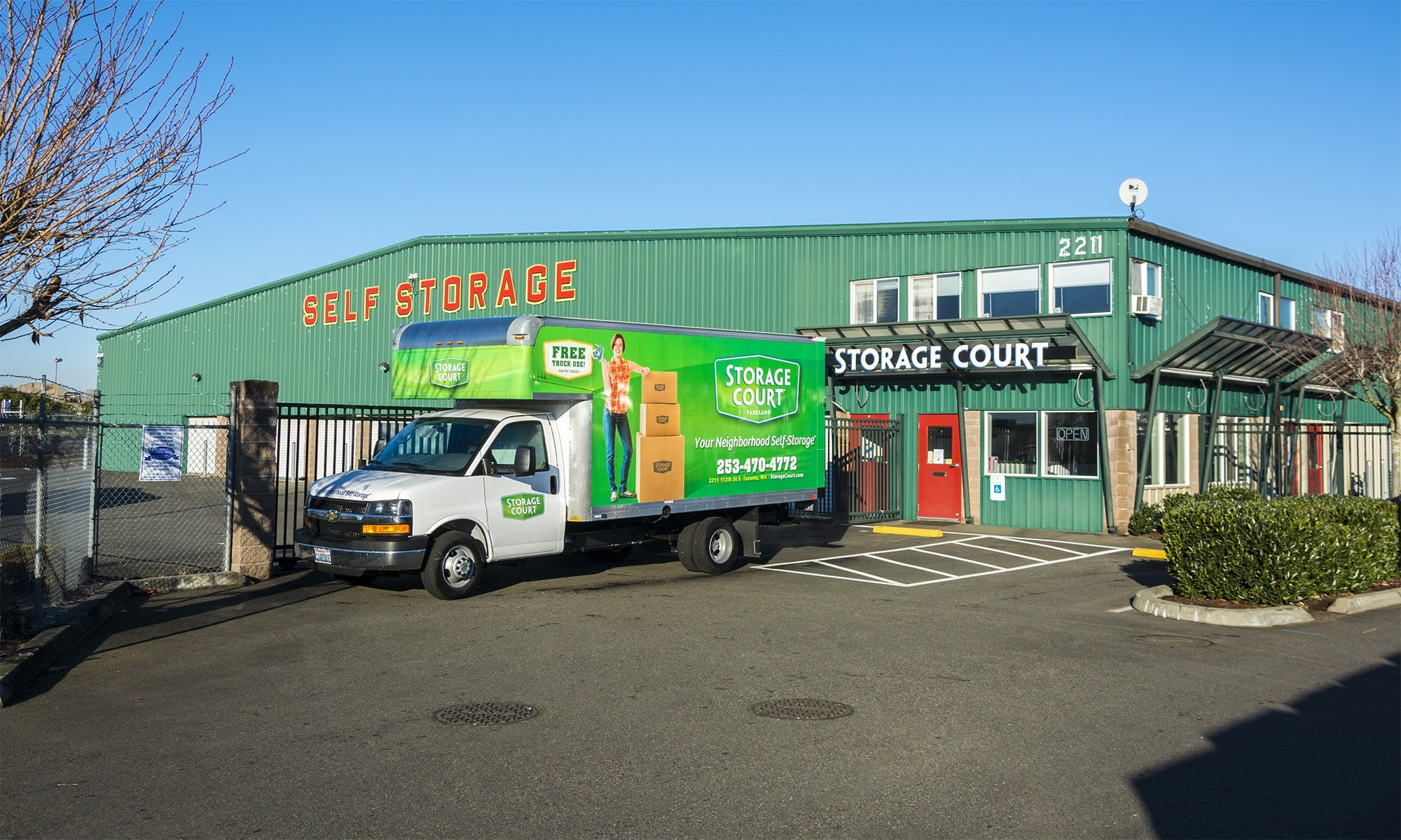 Self storage in Tacoma WA