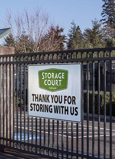 Storage options that will have you smiling at Storage Court of Parkland