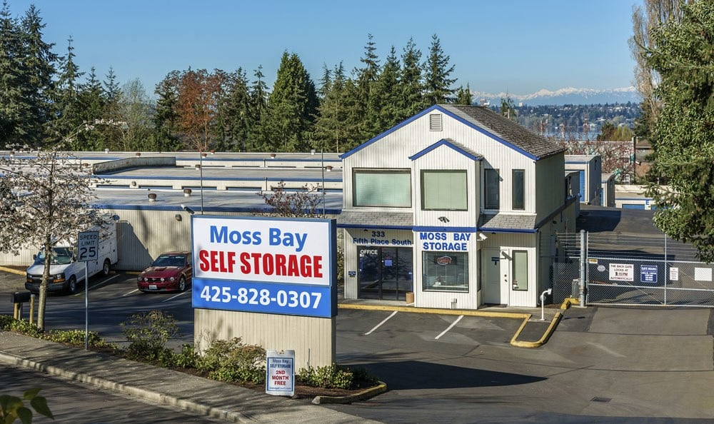 24-hour surveillance at self storage in Kirkland