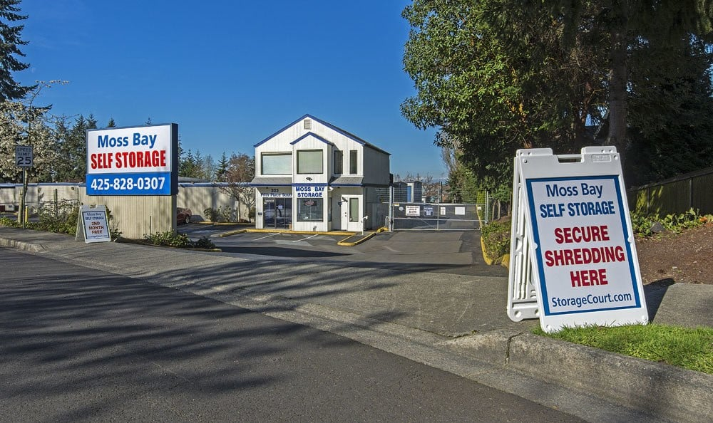Business storage at self storage in Kirkland near Seattle