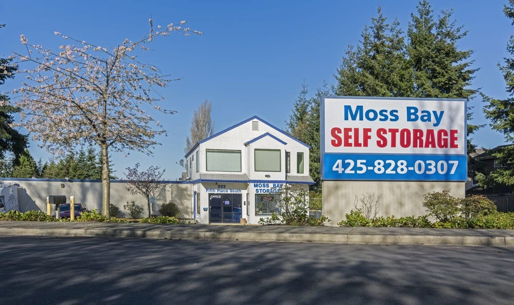 Secured self storage in Kirkland, WA