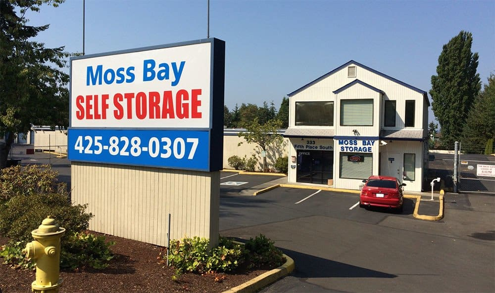 Welcome to convenient self storage in Kirkland