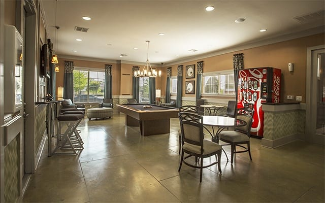 Game Room At Apartments In Humble Texas