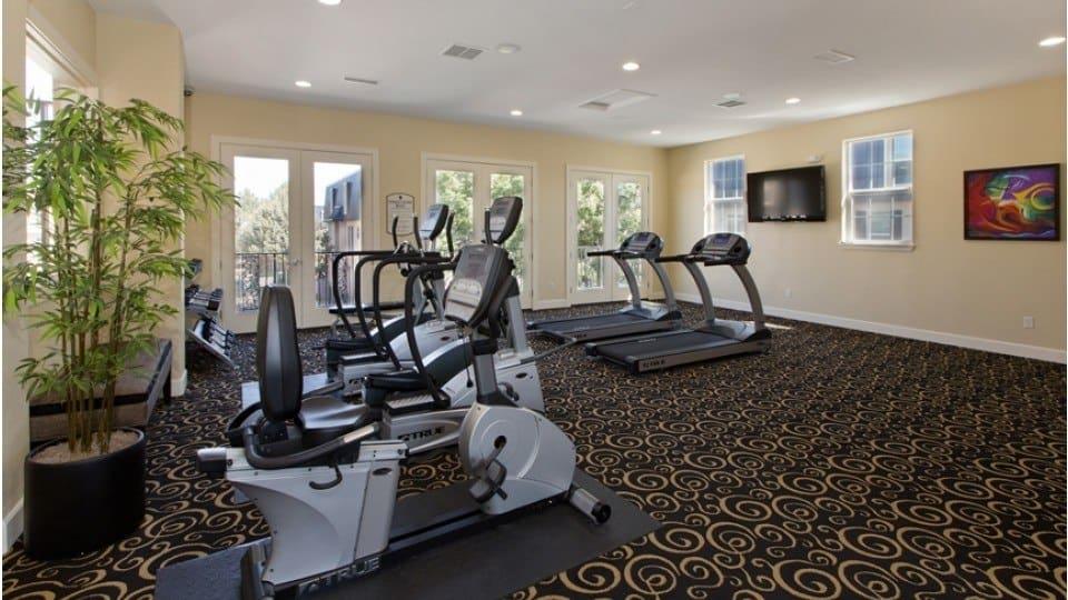Exercise Facility At Apartments In Denver Colorado