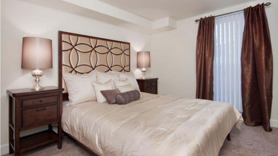 Master Bedroom At Apartments In Denver Colorado