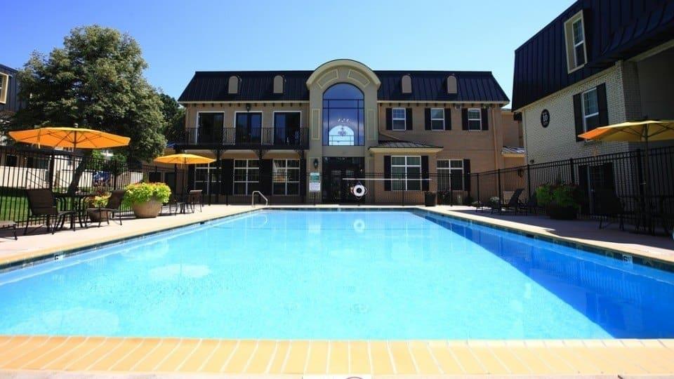 Swimming Pool At Apartments In Denver Colorado