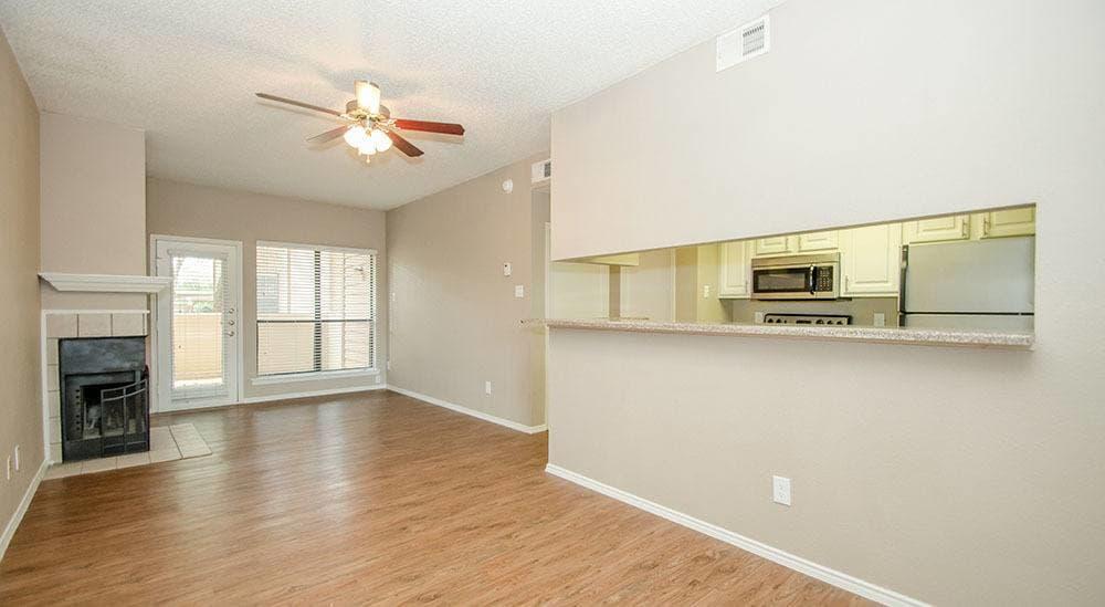 Spacious living rooms at Advenir at Park Boulevard