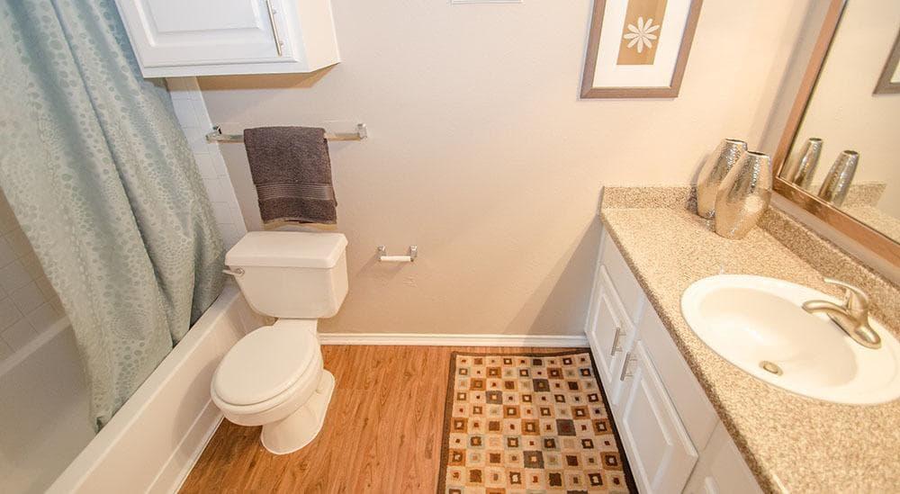 Nice bathrooms at Advenir at Park Boulevard