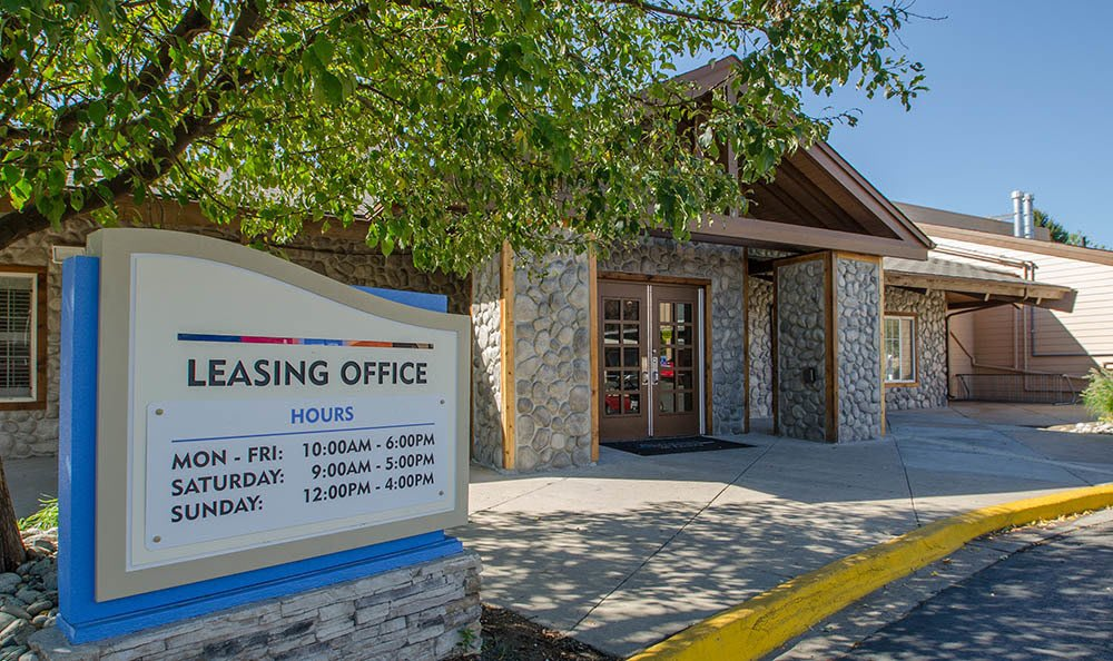 Leasing office at Advenir at Lowry